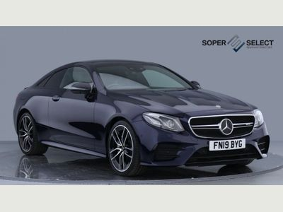 Mercedes-Benz E Class Coupe 3.0 E53 EQ Boost AMG SpdS TCT 4MATIC+ (s/s) 2dr