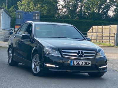 Mercedes-Benz C Class Saloon 2.1 C220 CDI AMG Sport 7G-Tronic Plus 4dr