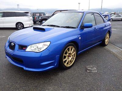 Subaru Impreza Saloon JDM WRX STI Spec C Twin Scroll Hawkeye