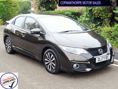 Honda Civic Hatchback 1.6 i-DTEC SE Plus (Navi) (s/s) 5dr