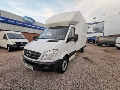 Mercedes-Benz Sprinter Luton 313 Cdi Tail Lift