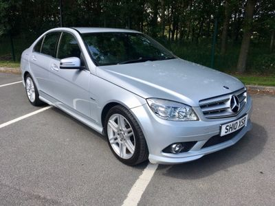 Mercedes-Benz C Class Saloon 1.8 C180 BlueEFFICIENCY Sport 4dr