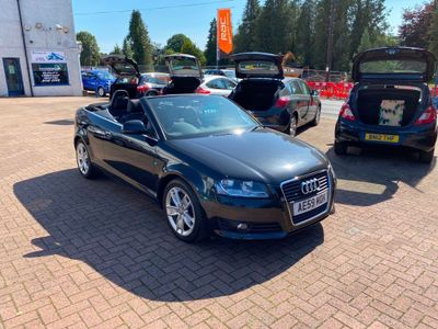Audi A3 Cabriolet Convertible 2.0 TFSI Sport S Tronic 2dr
