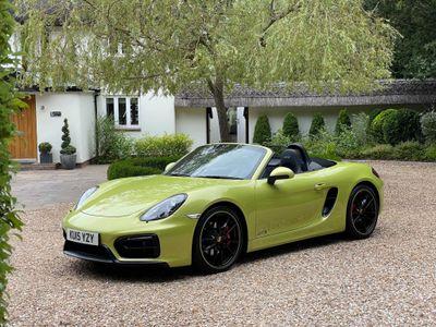 Porsche Boxster Convertible 3.4 981 GTS (s/s) 2dr