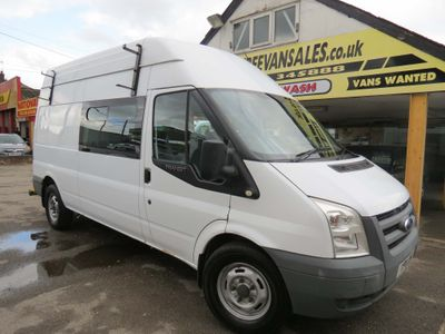 FORD TRANSIT Combi Van 2.4 TDCI 100PS LWB HIGH ROOF COMBI CREW