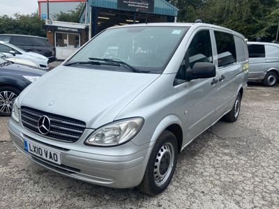 Mercedes-Benz Vito Panel Van 2.1 CDI EXTRA LONG 6 SEATER
