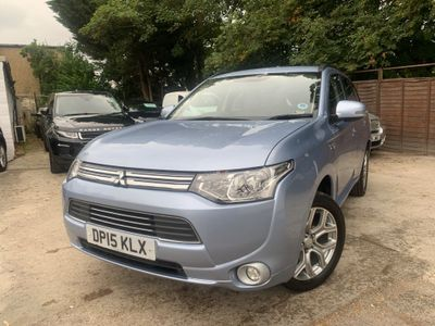 Mitsubishi Outlander SUV 2.0 GX3h 4x4 5dr (Leather, 5 seats)