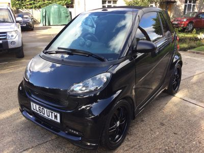 Smart fortwo Convertible 1.0 Brabus Xclusive Cabriolet 2dr