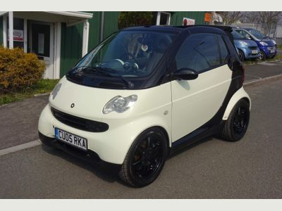 Smart fortwo Convertible 0.7 City I-Move Cabriolet 2dr