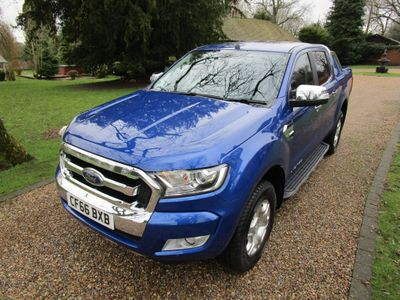 Ford Ranger Pickup 3.2 TDCi Limited 2 Double Cab Pickup Auto 4WD 4dr