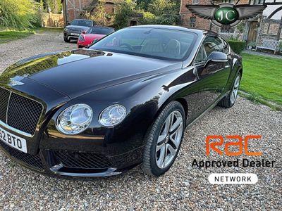 Bentley Continental Coupe 4.0 GT V8 Auto 4WD 2dr (EU5)