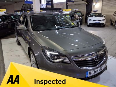 Vauxhall Insignia Hatchback 1.6 CDTi Design Auto 5dr