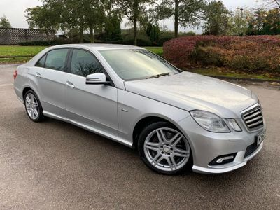 Mercedes-Benz E Class Saloon 1.8 E200 CGI BlueEFFICIENCY Avantgarde 4dr