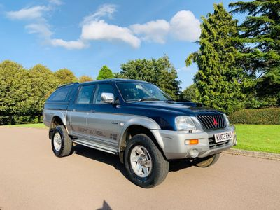 Mitsubishi L200 Pickup 2.5 TD Warrior Limited Edition Crewcab Pickup 4dr