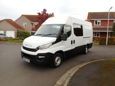 Iveco Daily Panel Van 2.3 35,s13v 126bhp welfare van , toilet