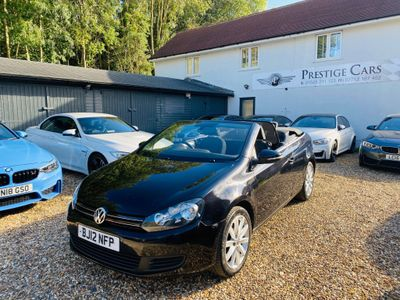 Volkswagen Golf Convertible 1.6 TDI BlueMotion Tech S Cabriolet (s/s) 2dr