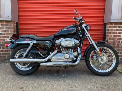 Harley-Davidson Sportster Custom Cruiser 883 XL Sportster