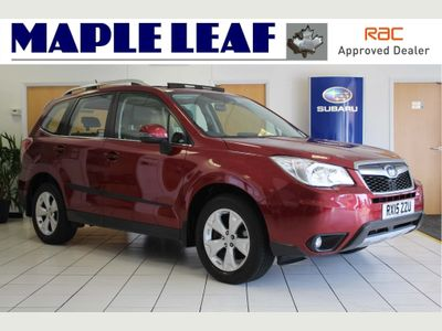 Subaru Forester SUV 2.0 TD XC Premium Lineartronic 4x4 5dr