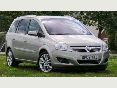 Vauxhall Zafira MPV 2.2 i 16v Elite 5dr