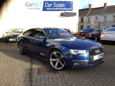 Audi A5 Hatchback 2.0 TDI Black Edition Plus Sportback Multitronic 5dr