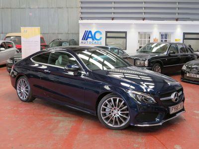 Mercedes-Benz C Class Coupe 2.1 C250d AMG Line (Premium Plus) G-Tronic+ (s/s) 2dr