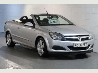 Vauxhall Astra Convertible 1.6 i 16v Twin Top 2dr