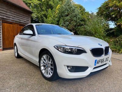 BMW 2 Series Coupe 1.5 218i SE Auto (s/s) 2dr