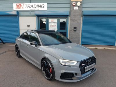 Audi RS3 Saloon 2.5 TFSI Audi Sport Edition S Tronic quattro (s/s) 4dr