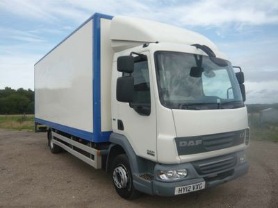 DAF {Other Models} Box Van LF45 7.5T BOX LORRY WITH TAIL LIFT