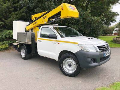 Toyota Hilux Specialist Vehicle 2.5 4WD Extra Active 13.2m Cherry Picker