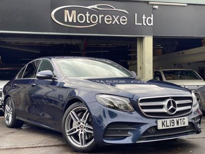 Mercedes-Benz E Class Saloon 2.0 E220d AMG Line Night Edition G-Tronic+ (s/s) 4dr