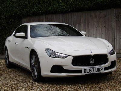 Maserati Ghibli Saloon 3.0D V6 ZF (s/s) 4dr