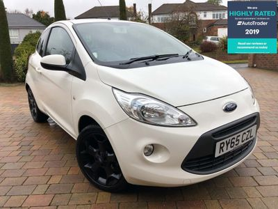 Ford Ka Hatchback 1.2 Zetec White Edition (s/s) 3dr
