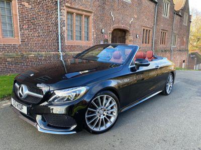 Mercedes-Benz C Class Convertible 2.1 C250d AMG Line Cabriolet G-Tronic+ (s/s) 2dr