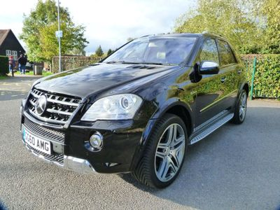 MERCEDES-BENZ M CLASS SUV 6.3 ML63 AMG 7G-Tronic 5dr