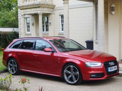 AUDI A4 AVANT Estate 3.0 TDI Black Edition Plus Avant S Tronic quattro 5dr