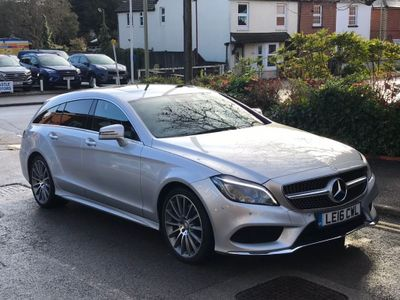 Mercedes-Benz CLS Estate 2.1 CLS220d AMG Line (Premium) Shooting Brake G-Tronic+ (s/s) 5dr