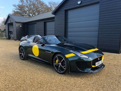 Jaguar F-Type Convertible 5.0 V8 Supercharged Project 7 Quickshift 2dr