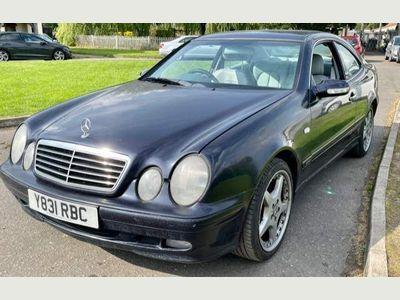 Mercedes-Benz CLK Coupe 2.0 CLK200 Kompressor Elegance 2dr