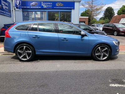 Volvo V60 Estate 2.4 D6 Twin Engine R-Design Lux Nav Auto AWD (s/s) 5dr