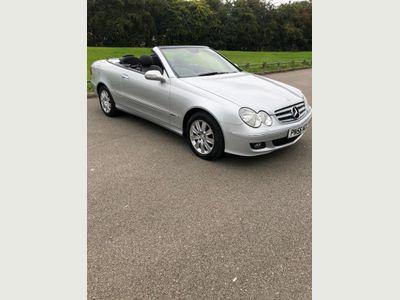Mercedes-Benz CLK Convertible 3.0 CLK280 Elegance Cabriolet 7G-Tronic 2dr