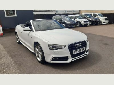 Audi A5 Cabriolet Convertible 2.0 TDI S line Cabriolet Multitronic 2dr