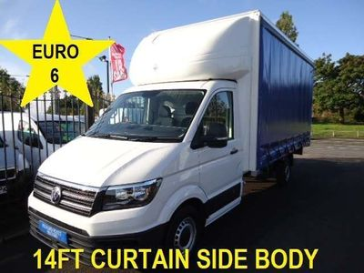 Volkswagen Crafter Curtain Side