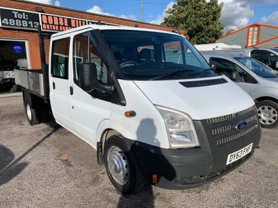 Ford Transit Dropside 2.2 T350 RWD, Twin wheel, Crew cab dropside,