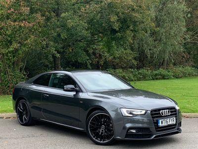 Audi A5 Coupe 2.0 TDI Black Edition Plus (s/s) 2dr