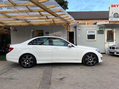 Mercedes-Benz C Class Saloon 1.6 C180 BlueEFFICIENCY AMG Sport Plus 7G-Tronic Plus 4dr