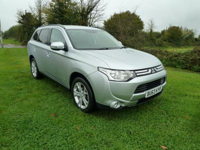 Mitsubishi Outlander SUV 2.2 DI-D GX3 4x4 5dr (7 seats, Leather)