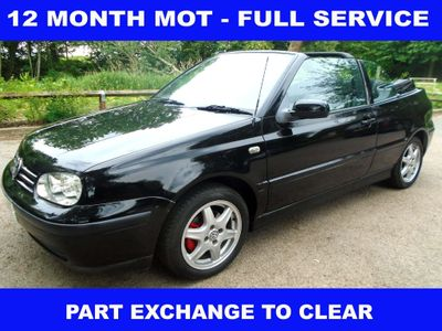 Volkswagen Golf Convertible 2.0 SE 2dr