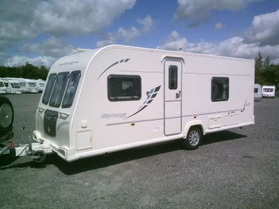 Bailey Olympus 534 Tourer 2010 4 BERTH FIXED BED