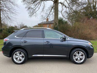 Lexus RX 450h SUV 3.5 Premier CVT 4x4 5dr